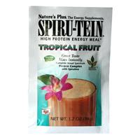 Nature's Plus Spirutein frutas tropicales 1 sobre individual