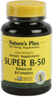 SUPER B-50 60 CAP. NATURE'S PLUS