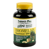 ULTRA BROMELAÍNA 1500MG 60 CMP. NATURE'S PLUS