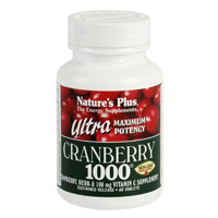 ULTRA CRANBERRY 1000 60 CMP. NATURE'S PLUS