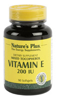 VITAMINA E 200 UI 90 PER. NATURE'S PLUS