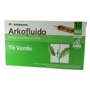 TE VERDE ARKOFLUIDO AMPOLLAS (10 VIALES)
