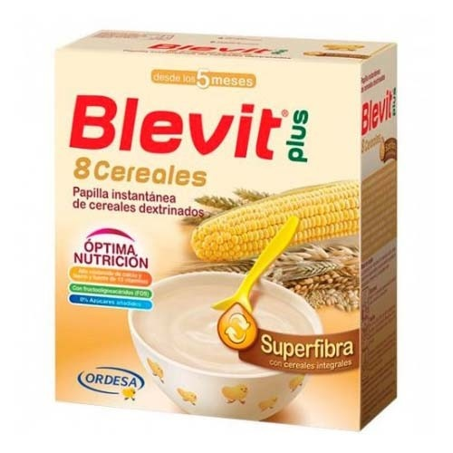 BLEVIT PLUS SUPERFIBRA 8 CEREALES (600 G)