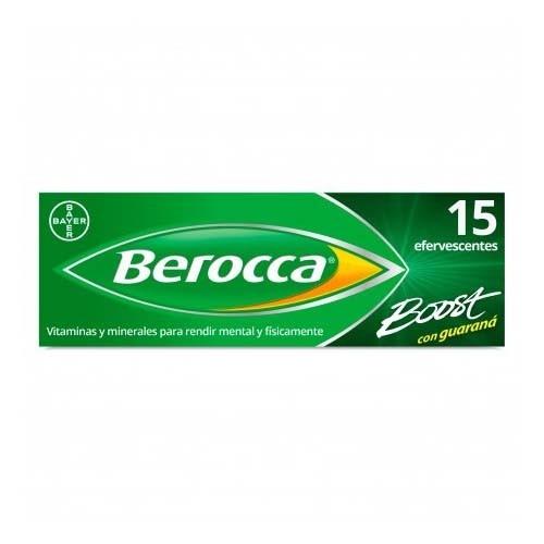 BEROCCA BOOST COMP EFERVESC (15 COMP)