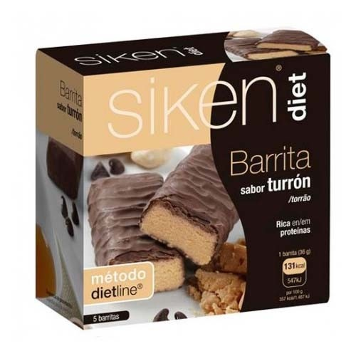 SIKEN DIET BARRITA TURRON (5 BAR)