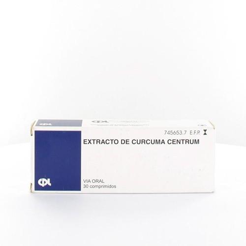 EXTRACTO DE CURCUMA CENTRUM 100 mg COMPRIMIDOS, 30 comprimidos