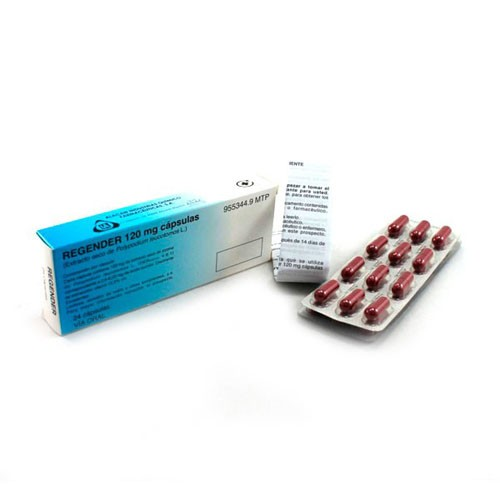 REGENDER 120 mg CAPSULAS DURAS. , 24 cápsulas