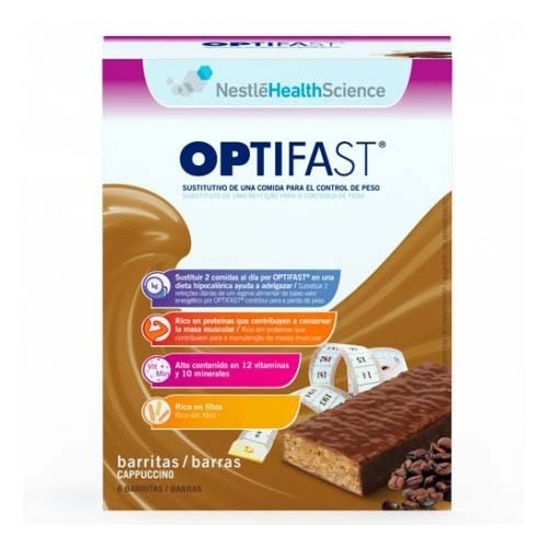 OPTIFAST BARRITAS (70 G 6 BARRITAS CAPUCHINO)