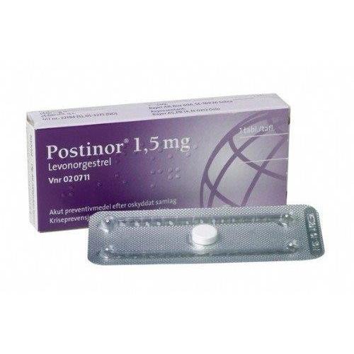 POSTINOR 1,5mg comprimido 1 comprimido
