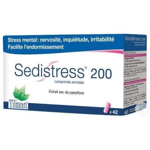 SEDISTRESS COMPRIMIDOS RECUBIERTOS , 42 comprimidos