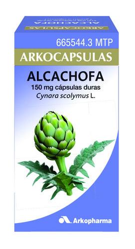 ARKOCAPSULAS ALCACHOFA  CAPSULAS DURAS , 50 cápsulas