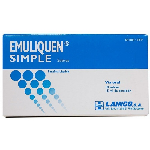 EMULIQUEN SIMPLE 7.173,9 mg EMULSION ORAL EN SOBRES , 10 sobres de 15 ml