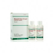 MINOXIDIL VIÑAS 50 mg/ml SOLUCION CUTANEA, 2 frascos de 60 ml