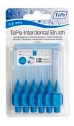 Cepillo dental interdental interspace 0.6 mm azu