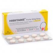 HIBITANE  5 mg/5 mg COMPRIMIDOS PARA CHUPAR SABOR LIMON , 20 comprimidos