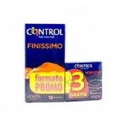 Control Finissimo Preservativos (12 U)