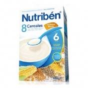 Nutriben Papilla 8 Cereales Galletas Maria (600 G)