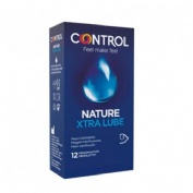 Control Adapta Nature Extra Lube Preservativos (12 U)