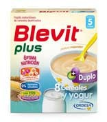 BLEVIT PLUS DUPLO 8 CEREALES Y YOGUR (600 G)