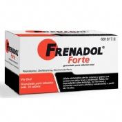 FRENADOL FORTE GRANULADO PARA SOLUCION ORAL , 10 sobres