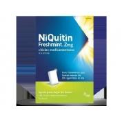 NIQUITIN  FRESHMINT 2 MG CHICLES MEDICAMENTOSOS, 100 chicles (blister AL/PVC/PVDC )