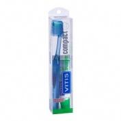 Cepillo Dental Adulto Vitis Compact (Suave)