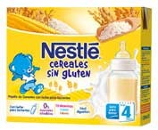 Nestle Papilla Cereales Sin Gluten Lista Para Tomar (Brik 250 Ml 2 U)