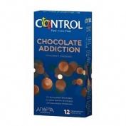 Control sex senses - preservativos (chocolate addiction 12 u)