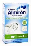 Almiron cereales sin gluten crema de arroz 250 g