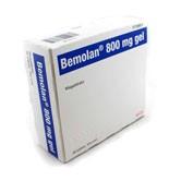 BEMOLAN 800 mg GEL ORAL , 30 sobres