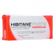 HIBITANE 5mg/5mg COMPRIMIDOS PARA CHUPAR SABOR NARANJA , 20 comprimidos