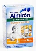 Almiron 8 cereales con miel bifidus 300 g 2 u