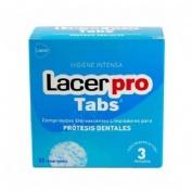 Lacerpro Comprimidos Efervescentes Limpieza Protesis Dental (32 Comprimidos)