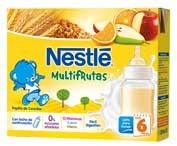 Nestle Papilla Multifrutas Lista Para Tomar (Brik 250 Ml 2 U)