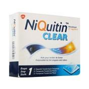 NIQUITIN CLEAR 21 mg/24 HORAS PARCHES TRANSDERMICOS , 14 parches