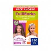 Fullmarks Antipiojos Y Liendres Champu + Locion Pediculicida (Kit 100+150 Ml)