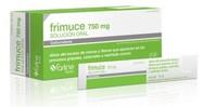 FRIMUCE 750 mg SOLUCION ORAL, 12 sobres