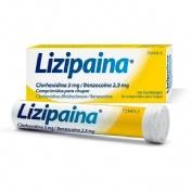 LIZIPAINA CLORHEXIDINA 5 MG/BENZOCAINA 2,5 MG COMPRIMIDOS PARA CHUPAR ,20 comprimidos