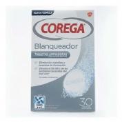 Corega Blanqueador Limpieza Protesis Dental (30 Tabletas)