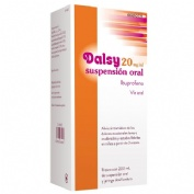 DALSY 20 mg/ml SUSPENSION ORAL , 1 frasco de 150 ml