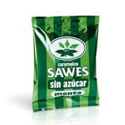 Sawes caramelos bolsa sin azucar (bolsa menta 50 g)
