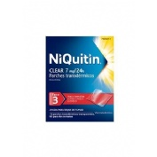 NIQUITIN CLEAR 7 MG/24 H PARCHES TRANSDERMICOS , 14 parches