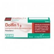DOLFIN 1 G COMPRIMIDOS EFERVESCENTES , 10 comprimidos