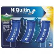 NIQUITIN 4 mg COMPRIMIDOS PARA CHUPAR SABOR MENTA , 60 comprimidos
