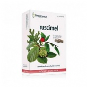 Ruscimel accion continua soria natural - homeosor (30 capsulas)