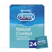 Durex Natural Plus Preservativos (24 U)