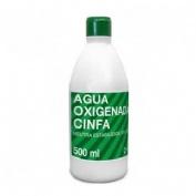 Cinfa Agua Oxigenada Reforzada (500 Ml)