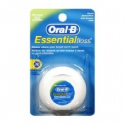 Oral-B Essential Floss Fluor Seda Dental Con Cera (Menta 50 M)